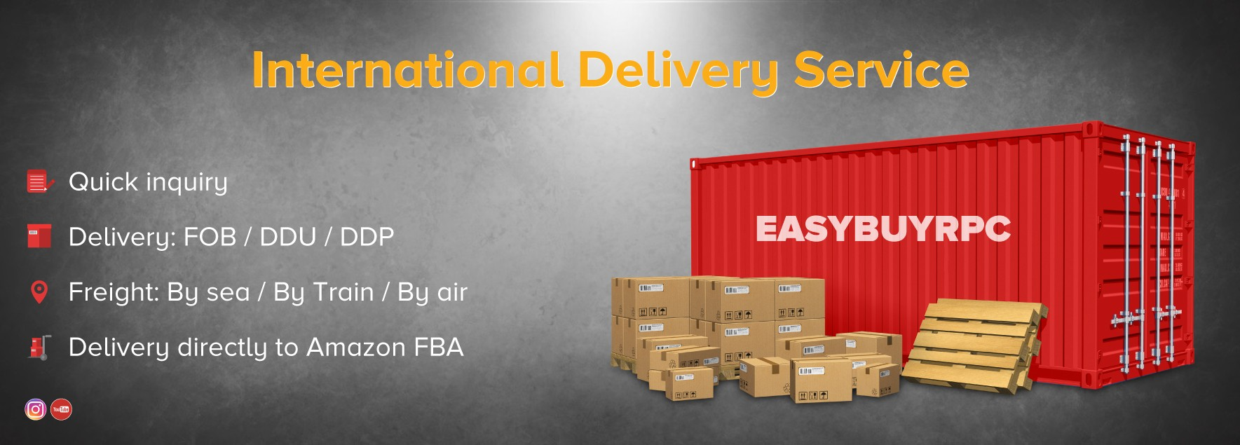 Easybuyrpc international delivery